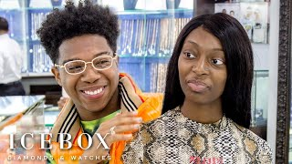 Nicole TV and Deshae Frost Get Iced Out & Talk New YouTube Pranks at Icebox