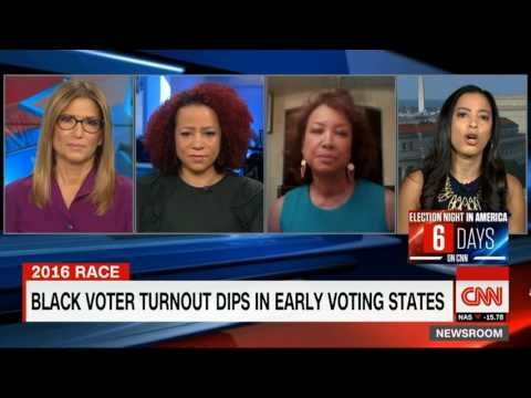 Angela Rye shuts down Trump Supporter Jennifer Carroll on the Black vote