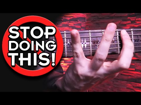Your Left Hand SUCKS? THIS Is The Solution! (Guitar Lesson)