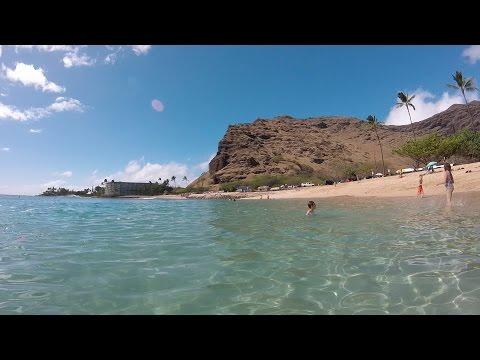 An afternoon at Makaha Beach, Hawaii