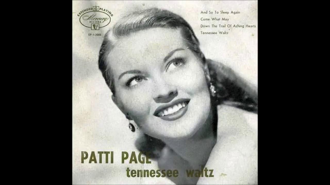 patti page, tennessee waltz