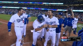 Dodgers walk off on Kela