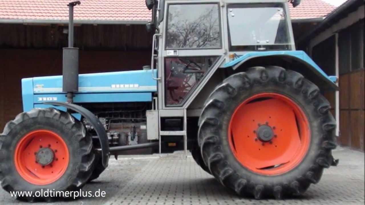Eicher 3105 Von 1982 Mit 108 Ps