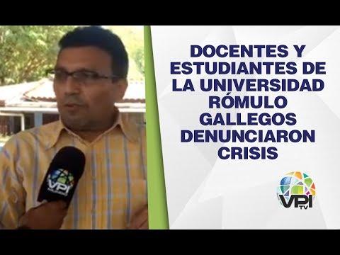Guárico - Docentes Y Estudiantes De La Universidad Rómulo Gallegos Denunciaron Crisis - VPItv