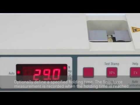 6D(SG) - Tester for gelatin capsules