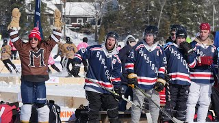 The Barstool Sports Pond Hockey Team Pulls Off Miracle