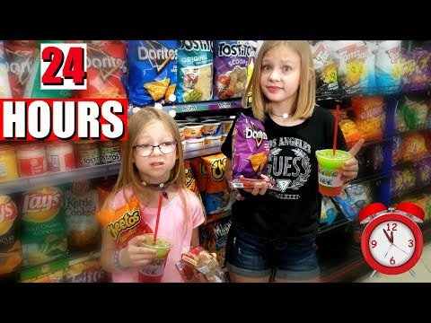 We Only Ate GAS STATION Food For 24 HOURS!!! - Magic Box