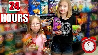 Baixar We Only Ate GAS STATION Food For 24 HOURS!!! - Magic Box