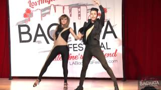MIKE ZUNIGA AND JENNIFER SILVAS - LA BACHATA FESTIVAL 2015