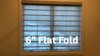 Carolina Blinds installation of Alustra Vignette Duolite Shades by Hunter Douglas