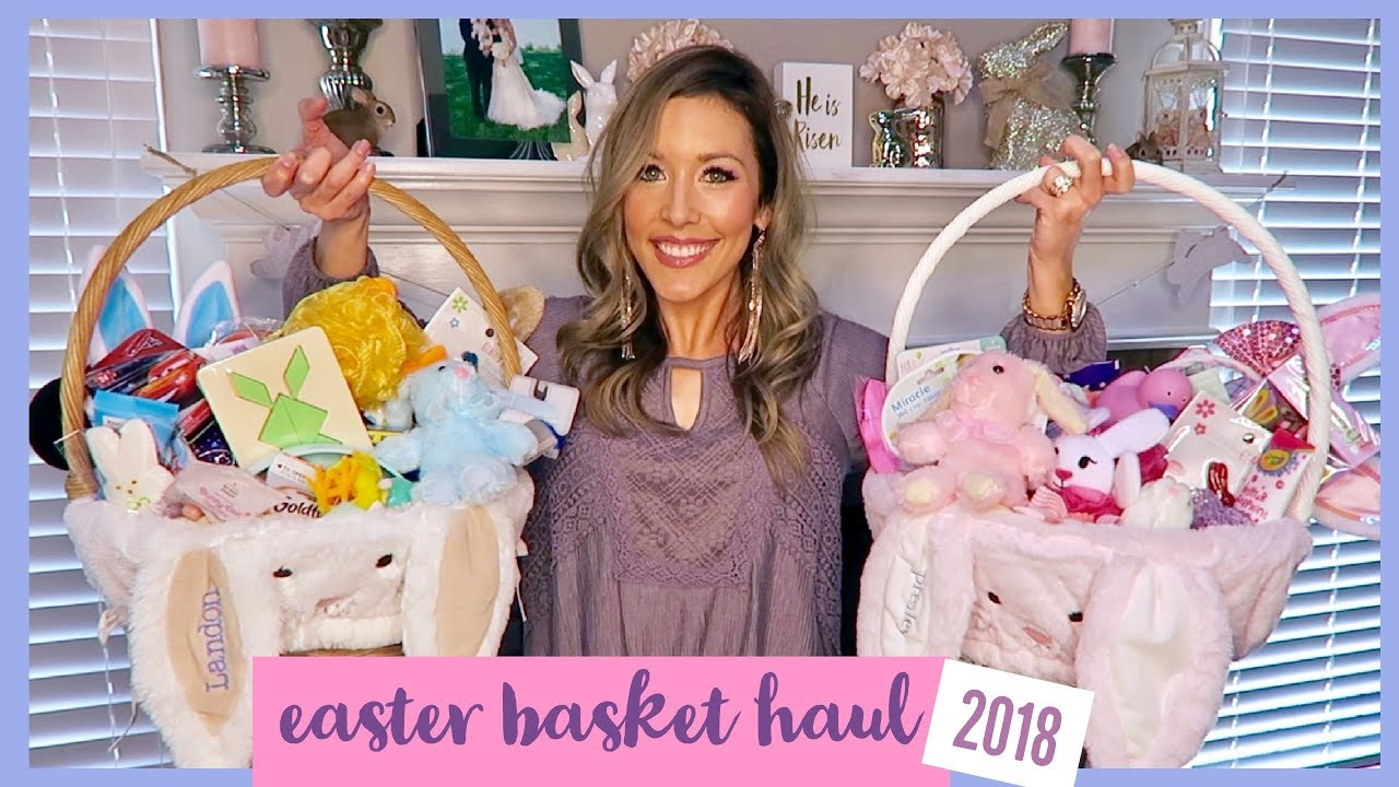 Easter basket haul 2018 boy and girl ideas collab with easter basket haul 2018 boy and girl ideas collab with emily momma from scratch negle Images