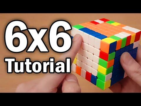 How to Solve the 6x6x6 Rubik's Cube [Easy Beginner Tutorial]