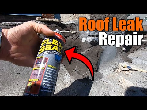 how-to-fix-a-roof-leak-with-flex-seal-|-the-handyman-|