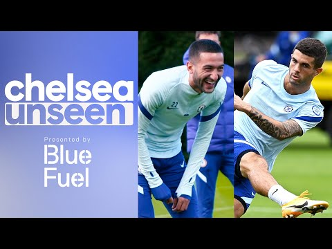 Hakim Ziyech Nears Match Fitness, Pulisic Takes On Azpilicueta In One One One Drill | Chelsea Unseen