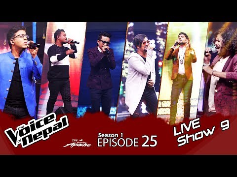 The Voice of Nepal - S1 E25  (Live Show 9)