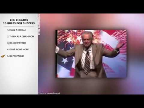 Zig Ziglar s Top 10 Rules For Success