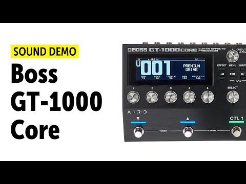 Boss GT-1000Core - Sound Demo (no talking)
