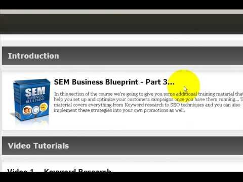 Sem business blueprint review youtube sem business blueprint review malvernweather Choice Image