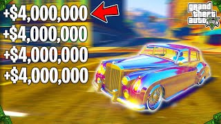 How To Make Over $800,00 EVERY 3 MINUTES In GTA 5 Online Doing This Money Method!