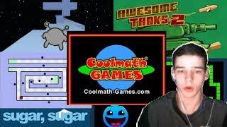 PLAYING COOL MATH GAMES!! [Childhood: 100]