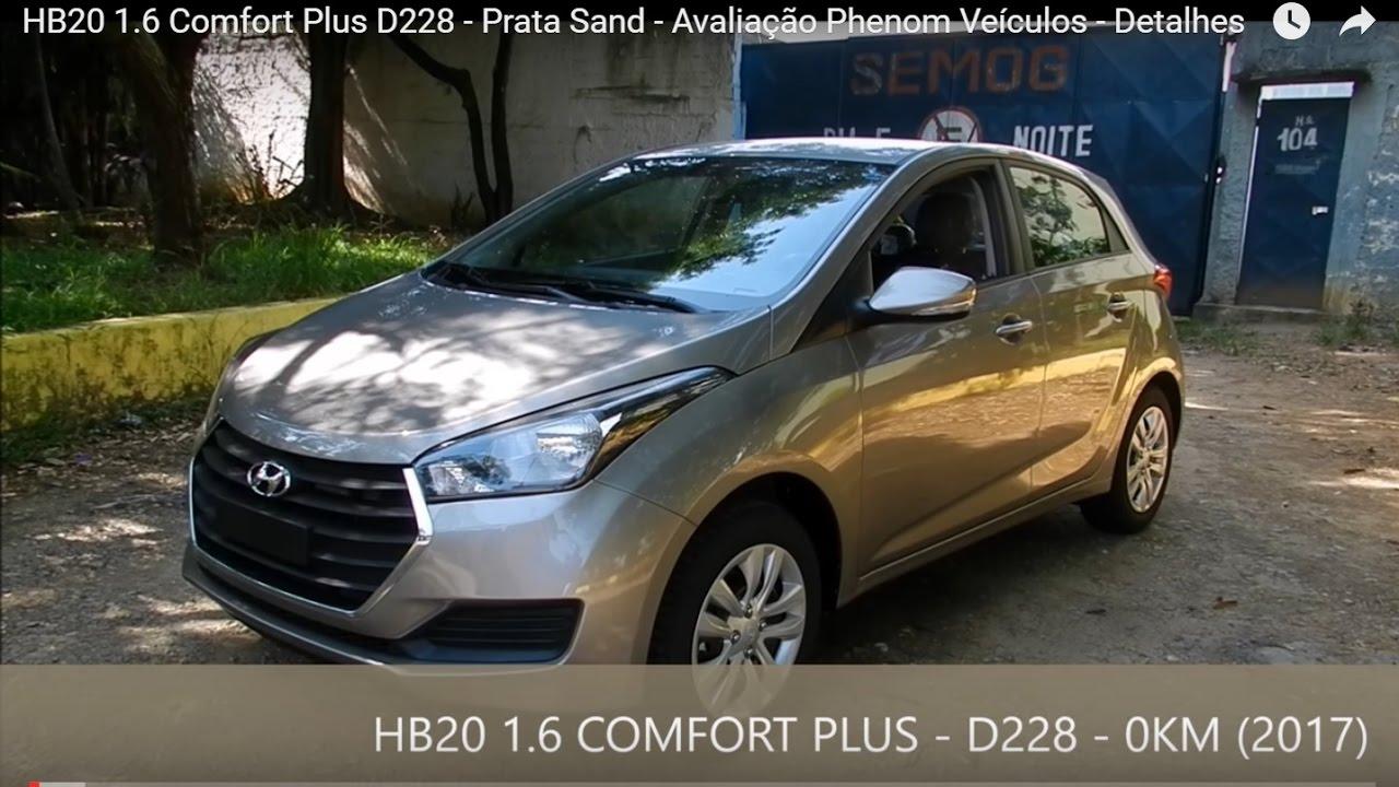 Hb20 1 6 Comfort Plus D228 Prata Sand Avalia 231 227 O Phenom