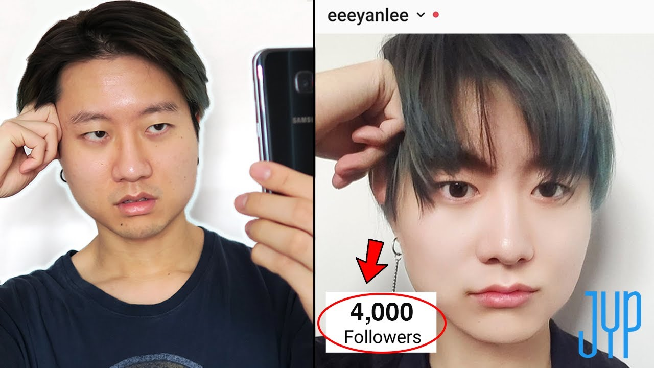 I Gained A Following As A Fake K Pop Idol By Using Face Filters Youtube