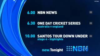 NBN Television | Lineup - (23.01.2015)