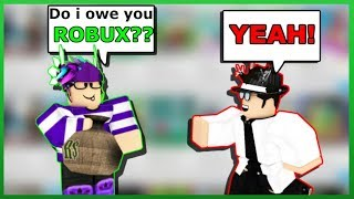 """Do I owe you ROBUX?"" Honesty Test 