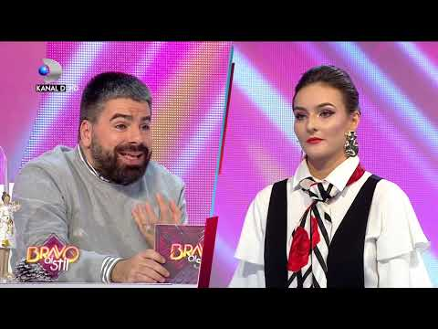 "Bravo, ai stil! (03.01.2019) - Silueta Elizei, admirata de Maurice: ""Poti pune pe tine orice!"""