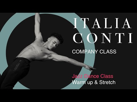 jazz-dance-class-#1--jazz-warm-up-and-stretch-sequence-#1---italia-conti-virtual