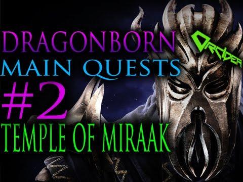 Skyrim Dragonborn - 2. The Temple of Miraak [Main Quests Walkthrough]