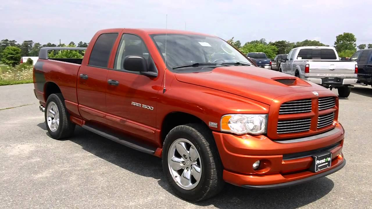 Used Trucks For Sale In Md >> Cars, Trucks and Vans for sale in MD, 2005 Dodge Ram Daytona # B1068 - YouTube