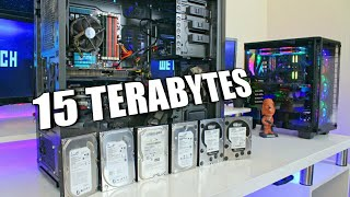 Building My 15 Terabyte Storage Server