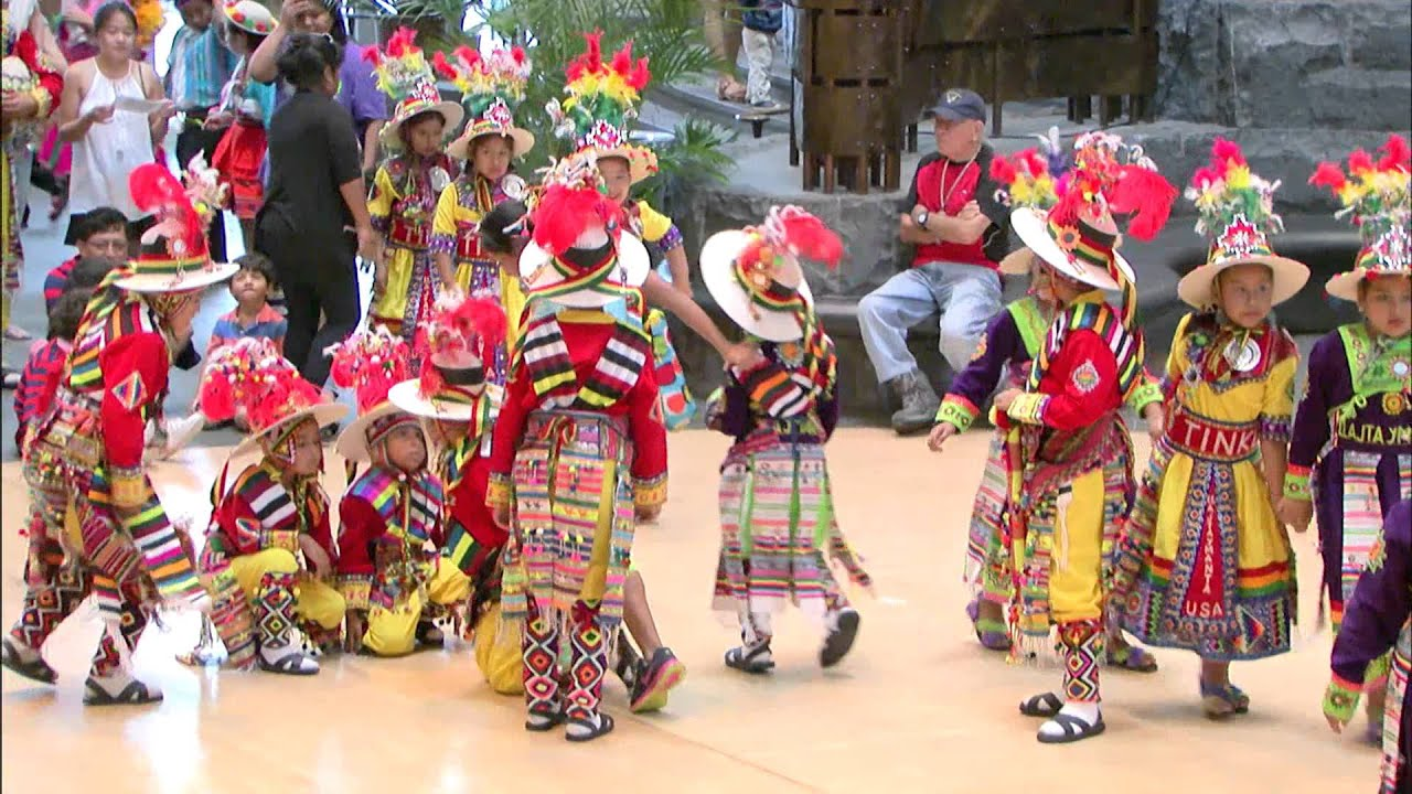 """""""The Great Inka Road"""" Family Day - 4 Bolivian Music & Dance - YouTube"""
