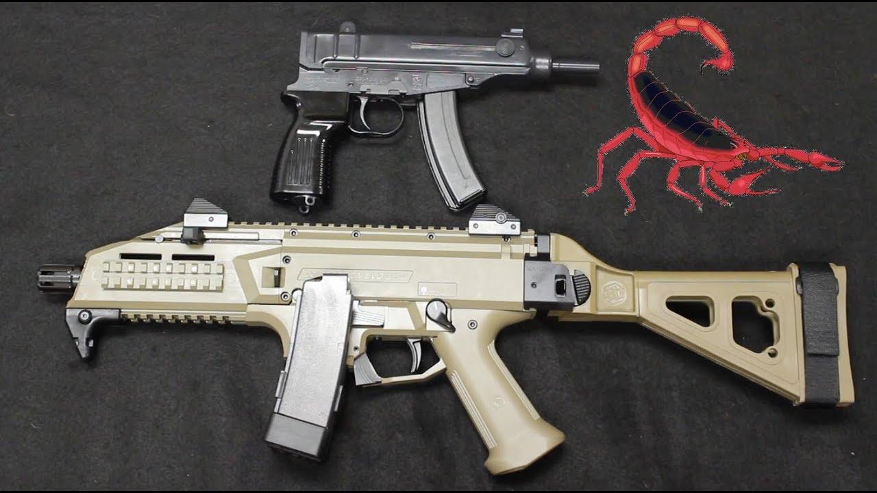 VZ61 Skorpion vs CZ Scorpion Evo 3 S1