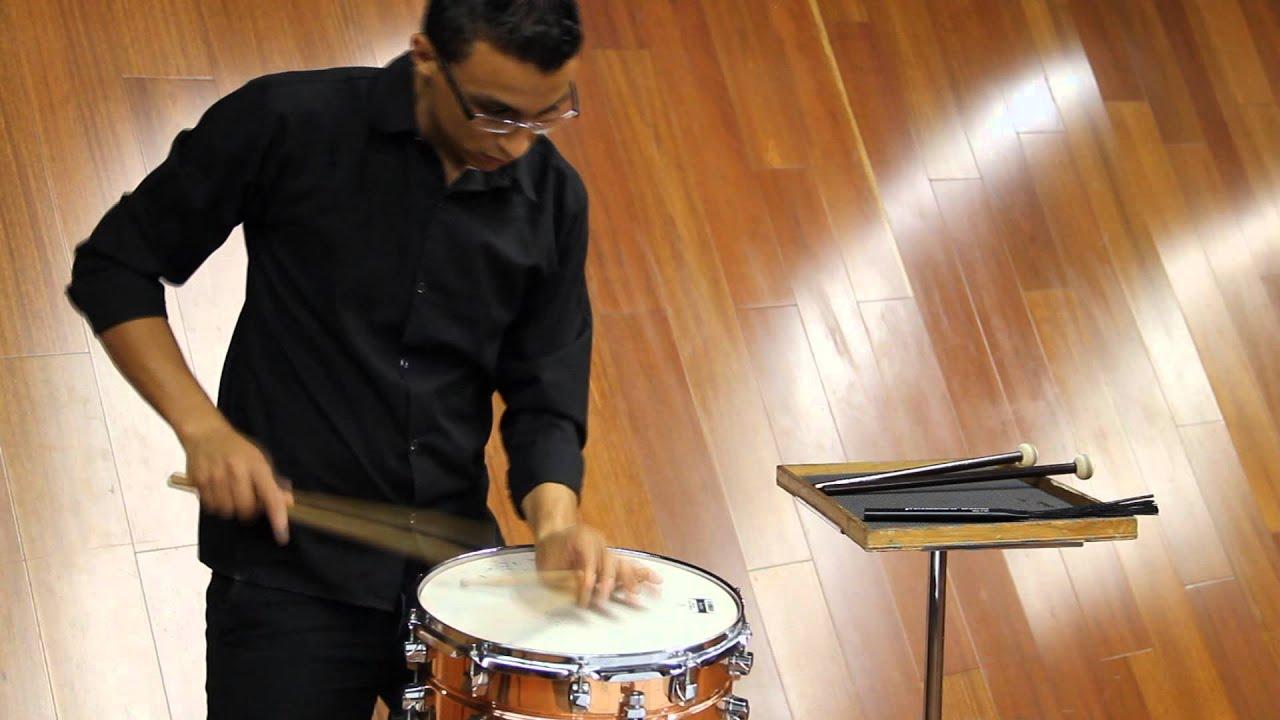 Trommel-Suite Snare drum suite