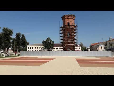 Старая Русса. Реставрация водонапорной башни.