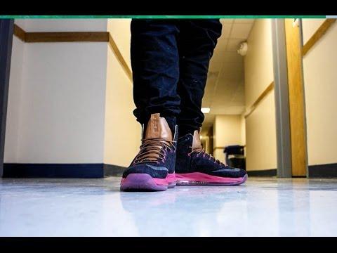 size 40 c082c e720f LeBron X (10) On Feet   Denim