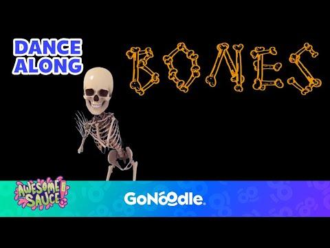 Bones Bones Bones - Awesome Sauce  GoNoodle