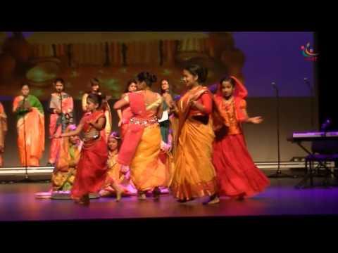 "Bangladesh Cultural Night 2016, Darwin, Gaye Halu from  Musical Drama ""The Love Flute"""