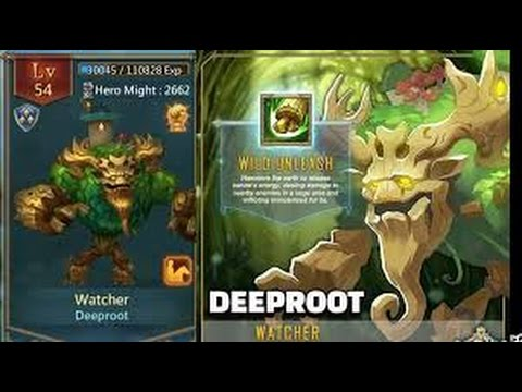 Lords Mobile: Watcher Review Aka Deeproot