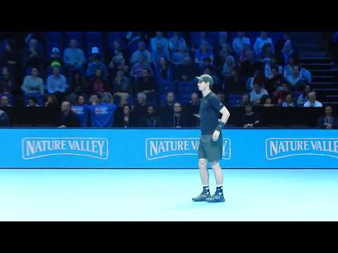 Barclays ATP Tour Finals 2016 Murray v Raonic First Set SF