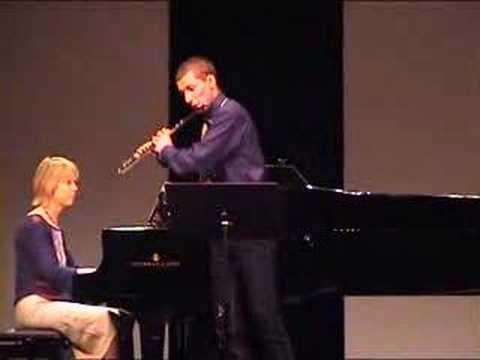 Paul Hindemith: Flute Sonata 2nd+3rd Movement