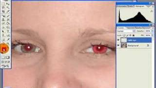 Photoshop Tutorial - Red Eye Removal
