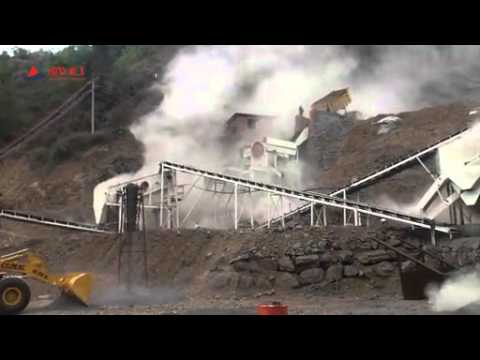 200TPH Basalt Crushing with 4 output size group