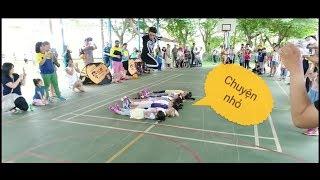 Biểu diễn Patin  tại  trường quốc tế Sai Gon Star Q2