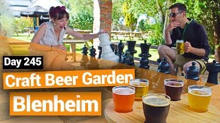 Craft Beer Garden in Blenheim – New Zealand's Biggest Gap Year – Backpacker Guide New Zealand thumbnail