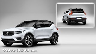 Volvo XC40 2018 - Interior and Exterior | New crossover Volvo XC40