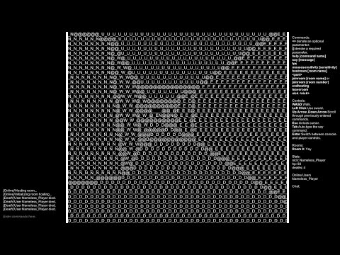 Eyes Of ASCII - A Game I Made.