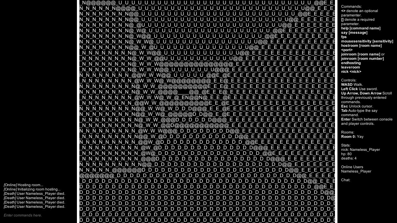 Eyes of ASCII - A game I made